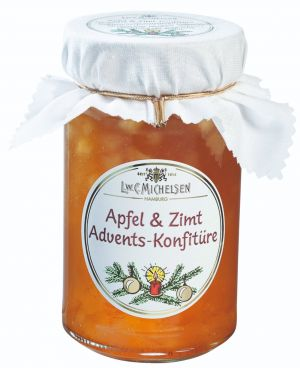 Aromatische, vollreife Äpfel und feiner Zimt.