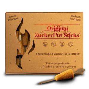 Die original Zuckerhutsticks jetzt auch aus Rohrzucker.