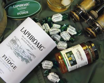 Whisky Fudge, Gebäck und Marmeladen