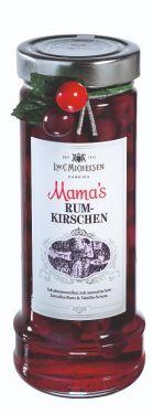 Aromatische Schattenmorellen mit Vanille und altem Jamaika-Rum.