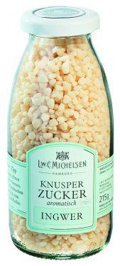 Knusper-Zucker Gourmet-Ingwer 215g