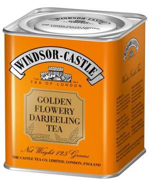Windsor-Castle Golden Flowery Darjeeling Tea 125g Dose