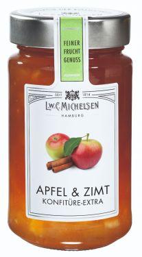 Feiner Canehl-Zimt rundet diese köstliche und saftige Apfelkonfitüre perfekt ab.
