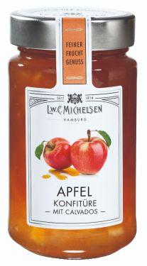 Frische, knackige Äpfel, veredelt mit einem Hauch hochwertigem Calvados - ein einzigartiger Genuss.