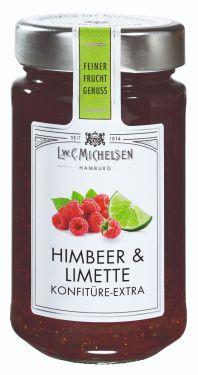 Frische, saftige Himbeeren und fein-säuerliche Limette, besonders aromatisch und schonend hergestellt.
