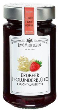 L.W.C. Michelsen - Erdbeer-Holunderblüte Fruchtaufstrich 280g