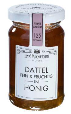 Feine Honigkomposition mit feinem Blütenhonig und Dattelsirup.