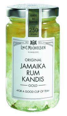 Jamaika Rum-Kandis Gold 250g