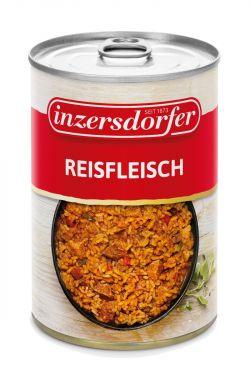 Ein typisches Wiener Gericht aus Reis und Schweinefleisch würzig abgeschmeckt mit Paprika, Selchspeck, Zwiebeln, Karotten und Tomatenmark.