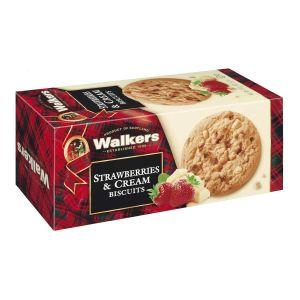 Walkers Shortbread – Strawberry & Cream Biscuits 150g