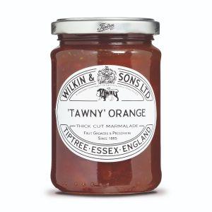 Tawny Orangenkonfitüre ist ein luxuriöser Fruchtaufstrich mit einem frischen und fruchtigen Geschmack.