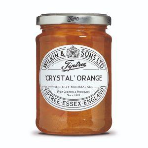 Fruchtige und aromatische Konfitüre mit fein geschnittener Orangenschale.
