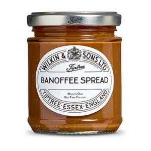 Unsere Banoffe Creme ist eine klassische Kombination aus Bananen und Toffee (Karamell).