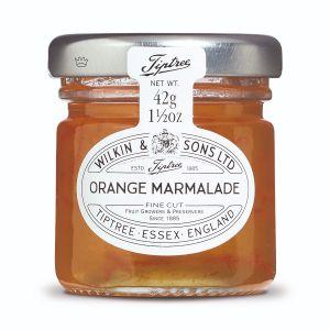 Frische Orangenkonfitüre mit mittelfein geschnittenen Schalenstückchen 42g