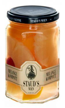 Staud's Wien - Melange Kompott - gemischte Früchte in Sirup - 314ml