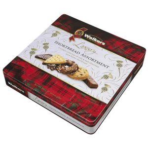 Walkers Shortbread – Luxus Schokolade Sortiment in Geschenkdose 300g