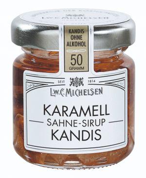 Weißer Kandis mit dem feinen Aroma von Sahne-Karamell.