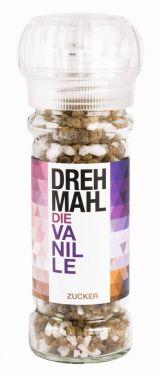 Dragierter Zucker Vanille.