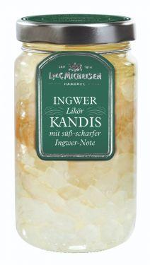 Weißer Kandis mit süß-scharfer Ingwer-Note.