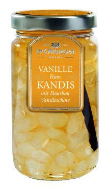 Kandiszucker in Rumzubereitung & Vanille-Schote