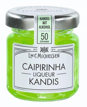 Weißer Kandis mit Rum & Limonen-Likör.