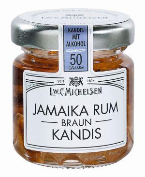 Jamaika Rum-Kandis Braun - mini 50g