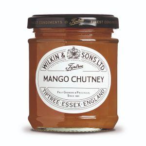 Mango Chutney mit Mango-Stückchen.