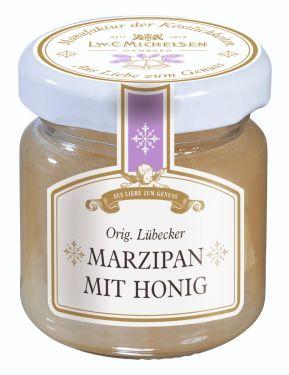 Feinster Honig mit 30% echtem Lübecker Marzipan.