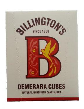 Billington' Demerara Cubes - Zuckerwürfel aus 100% natürlichem unraffiniertem Rohrzucker.