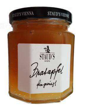 Staud's Wien - die Limitierten - Bratapfel Konfitüre mit geröstete Mandeln, Rosinen, feinen Gewürzen und Jamaica Rum 250g