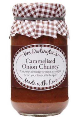 Versuchen Sie dieses leckere Chutney mit Cheddar, Würstchen oder auf Ihrem Lieblingsburger.