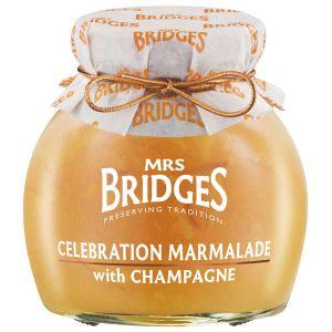 Mrs Bridges – Celebration Marmalade with Champagne 340g