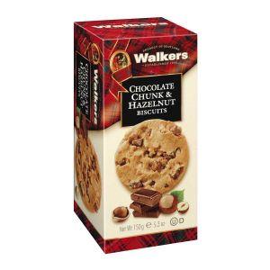 Haselnuss Biscuits mit Stücken aus belgischer Vollmilchschokolade.