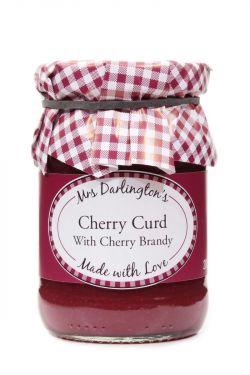 Mrs Darlingtons Cherry Curd With Cherry Brandy - Kirsch Creme mit Kirsch-Brandy 200g
