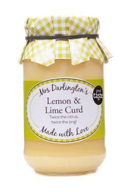 Mrs Darlingtons Lemon & Lime Curd - Zitronen & Limetten Creme 320g