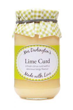 Mrs Darlingtons Lime Curd - Limetten Creme 320g