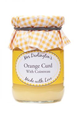 Mrs Darlingtons Orange Curd With Cointreau 200g