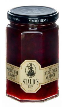 Staud's Wien - Wild Preiselbeer Kompott - Preiselbeeren in Sirup 314ml