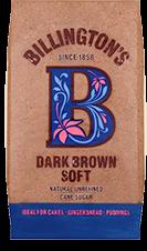 Billington's Dark Brown Soft hat einen reichen Geschmack und natürliche Farbe. Ideal für Kuchen, Lebkuchen und Pudding.