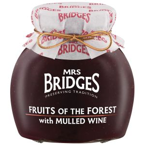 Mrs Bridges – Fruits of the Forest Preserve with Mulled Wine 340g