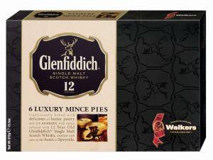 Köstliche Buttergebäcktörtchen mit kandierten Früchten, verfeinert mit Glenfiddich Single Malt Whisky.