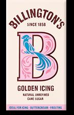 Billington's Golden Icing Puderzucker