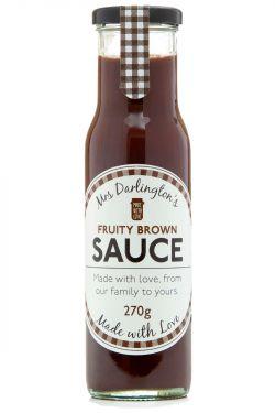 Mrs Darlingtons - Fruchtige Braune Sauce / Steak Sauce 270g