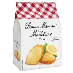 Französische Madeleines mit Zitrone. 7 Stück einzeln verpackt.