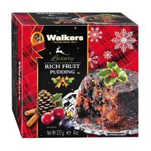 """Original schottischer Weihnachtspudding """"Plum Pudding""""."""