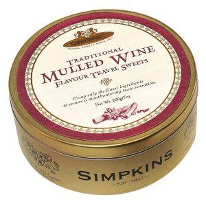 Mulled Wine Drops 200g – Glühweinbonbons - Dose