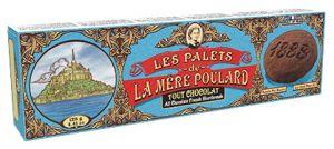 La Mère Poulard - Palets Tout Chocolat - Schokoladen-Butterkeks 125g