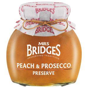 Pfirsichkonfitüre mit einem Schuss Prosecco verfeinert.