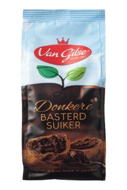 Van Gilse - Donkere Basterd Suiker - Dunkler Bastardzucker 600g