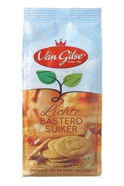 Van Gilse - Lichte Basterd Suiker - Heller Bastardzucker 600g